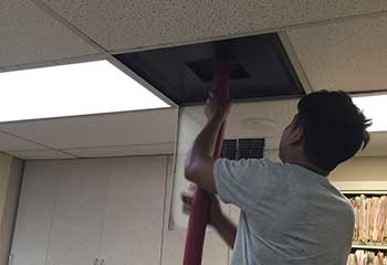 Air Duct Cleaning Project | Ducts & Attic Cleaning Experts, TX